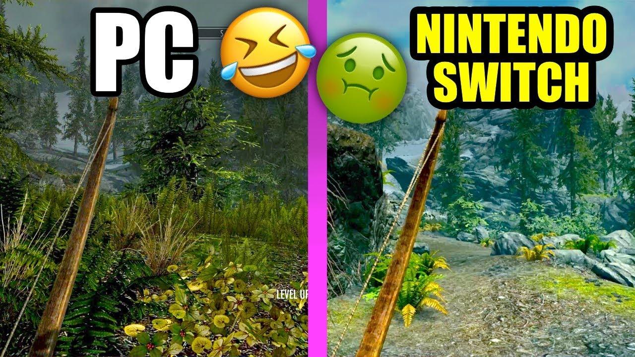 IT MADE ME SICK! - SKYRIM on Nintendo Switch