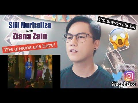 Siti Nurhaliza and Ziana Zain - Kemelut Di Muara Kasih (Nazam Lebaran CT) | REACTION