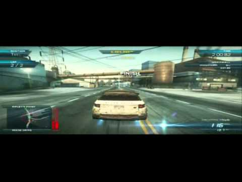 NFS Most Wanted 2012 (PS3) - Land Rover Range Rover Evoque