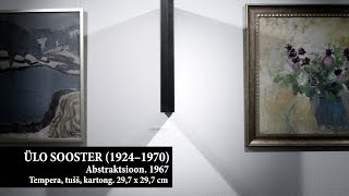 Ülo Sooster. Abstraktsioon. 1967