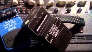 Behringer Space-C Analog Chorus Guitar Pedal Demo