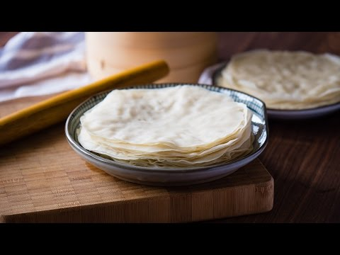 [Eng Sub]【曼食慢语第83集】荷叶饼 Chinese Steamed Pancakes