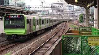 E235系 東トウ01編成 E231系 東トウ531編成 東京駅にて 2017/09/05