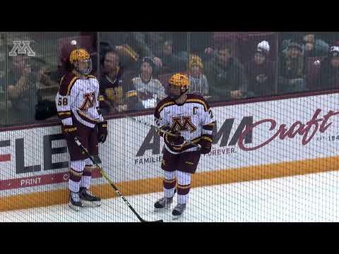 Highlights: Gopher Men's Hockey Ties #5 Notre Dame 2-2, Scores In OT