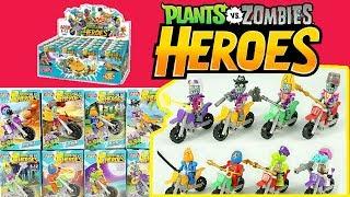Plants vs Zombies PVZ Heroes Bikers Lego Minifigures Pharaoh Buckethead Pirate Zombies DIY thumbnail