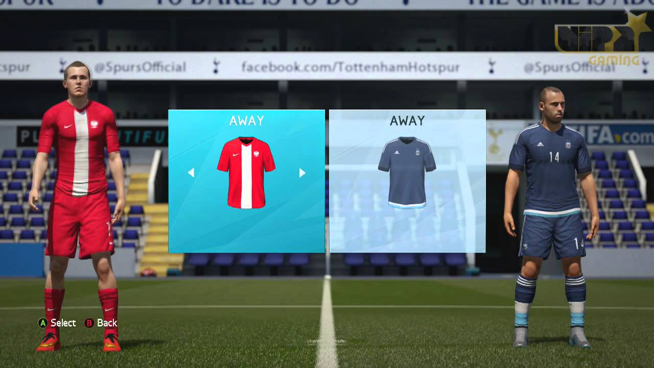 207c535f1 FIFA 16 - All International teams   Kits - YouTube