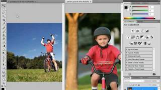 Adobe photoshop CS4 Lesson 1/14 Tutorial for beginners