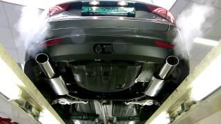 Hyundai i40 Выхлопная система тюнинг смотреть