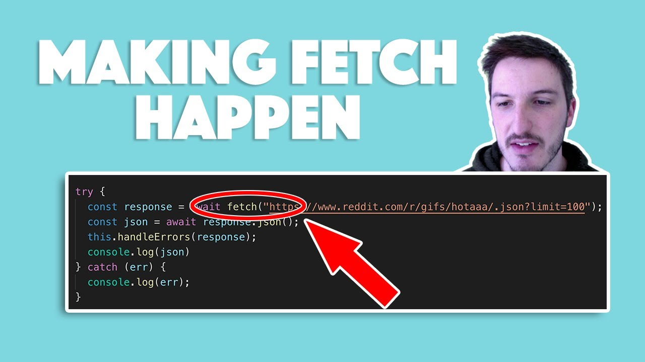GET/POST Requests in StencilJS with the Fetch API