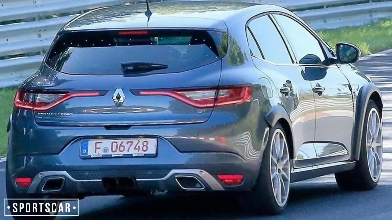 new renault megane rs 2017 teased 300bhp youtube. Black Bedroom Furniture Sets. Home Design Ideas