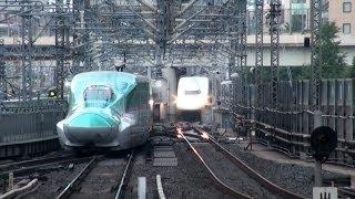 【JR東日本】ダイヤの乱れで信号待ち頻発の東北新幹線@東京駅 thumbnail