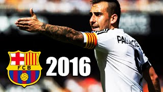 Paco Alcácer ● All Goals & Assits 2015/16 - Welcome to FC Barcelona - HD