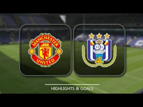 Manchester United Vs Anderlecht 2-1|20 April 2017 Highlights|