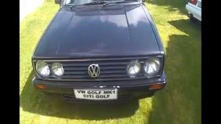 REPLACING VW GOLF MK1 CITI GOLF INNER CV