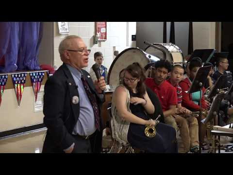 O'Donnell Middle School Memorial Day Assembly (2018)