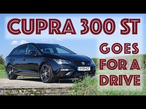 2018 SEAT Cupra ST 300 (digital dash) goes for a drive