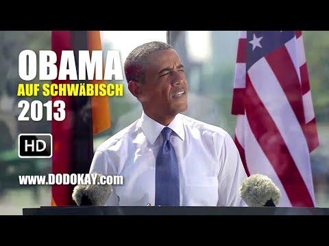 dodokay - Obama schwäbisch 2013 - Abhörskandal im Haus