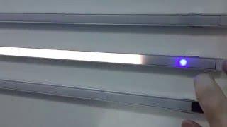 видео линейные светодиодные светильники для кухни