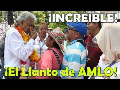 López Obrador ¡Rompe en Llanto ante los padres de los 43 desaparecidos de Ayotzinapa!