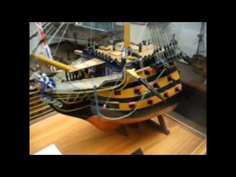 Model of HMS Victory and tour of the Houston Maritime Museum