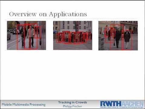 Compter Vision Seminar Presentation - Crowd Tracking