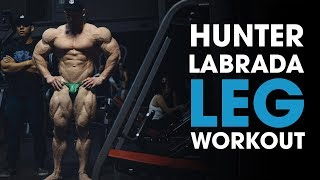 Hunter Labrada & HypertrophyCoach Train Legs