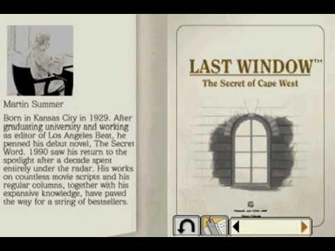 Let's Play Last Window: The Secret of Cape West - Bonus - The Novel