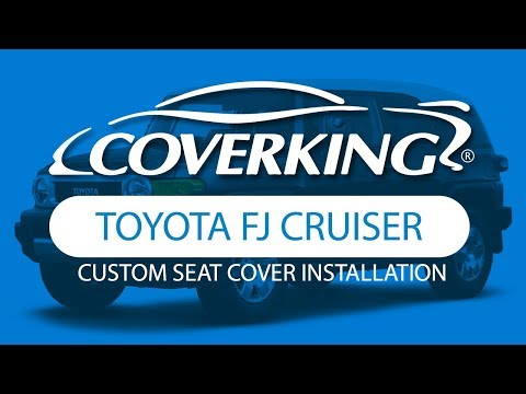 How to Install 2007-2008 Toyota FJ Cruiser Custom Seat Covers | COVERKING®