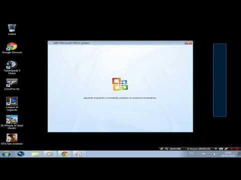 Como Instalar Office 2007 WINDOWS 7/XP