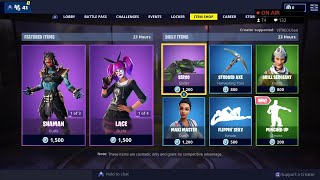 *NEW* PUNCHED UP Emote - Lace & Paradox Skins are BACK - April 1st Fortnite Daily Item Shop LIVE