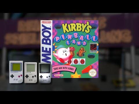 Gameplay : Kirbys Pinball Land [Gameboy]