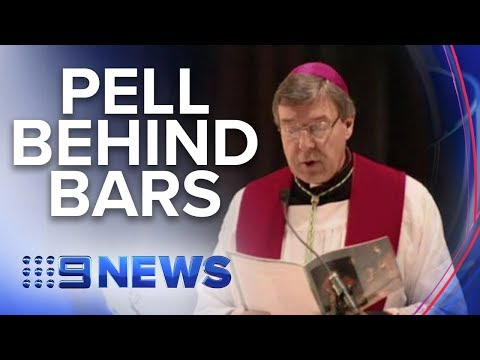 Cardinal Pell spends first night behind bars | Nine News Australia