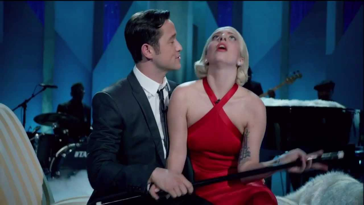 Lady Gaga - Joseph Gordon-Levitt Baby It's Cold Outside - YouTube