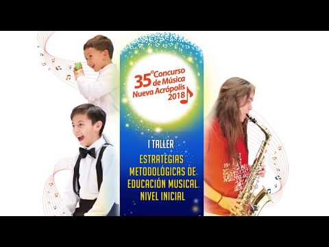 I Taller: Estrategias Metodológicas de Educación Musical Nivel Inicial