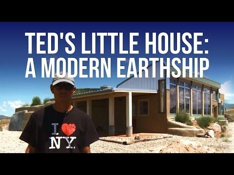 Teds Li House Modern Earthship