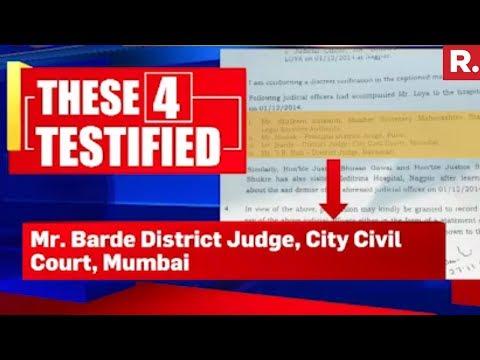 Testimonies Confirm Heart Attack | Justice Loya Death Case