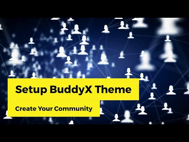 BuddyX Demo Install - Free BuddyPress Theme