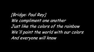 Bigger than us - Dame DOLLA ft. Paul Rey (Lyric Video)