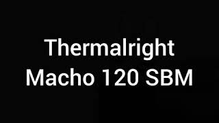 unpacking, installation Macho 120 SBM.     Macho 120 SBM для zion e 5450