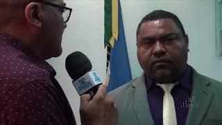 Luizinho comemora a conclusão da adutora da comunidade da Lagoa da Casca