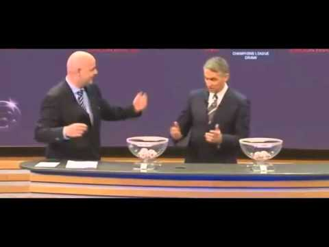 UEFA Champions League draw 2010-2011 18/3/2011