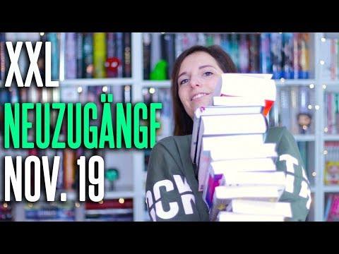 XXL NEUZUGÄNGE November 2019 | 30 neue Bücher im Book Haul | melodyofbooks