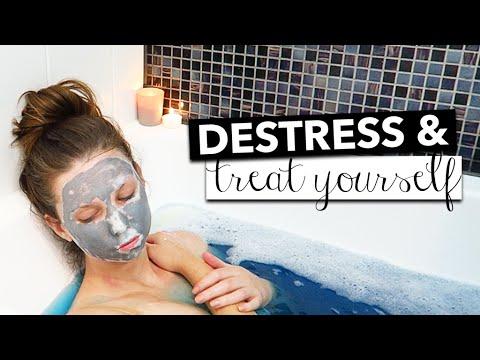 3 Ways To Destress & Treat Yourself - Rachelleea - 동영상