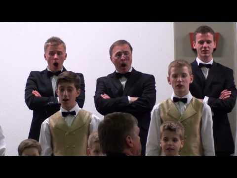 Kur tad tu nu biji - Latvian Folk Song - JMM Boy's Choir of Riga - Latvia