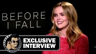 Zoey Deutch Exclusive BEFORE I FALL Interview (JoBlo.com) 2017