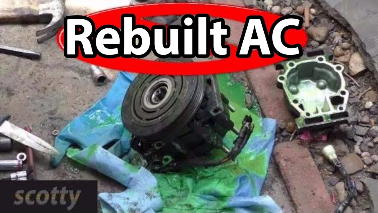 Rebuilt Auto Ac Compressors >> Why Not To Buy A Rebuilt Ac Compressor Youtube