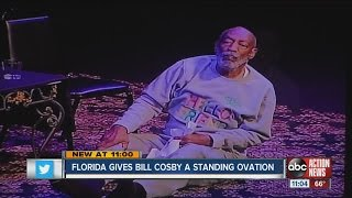 Florida gives Bill Cosby standing ovation