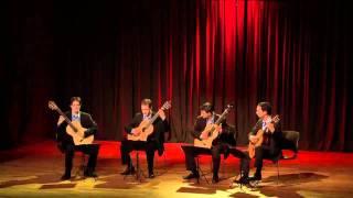 Cuarteto IN CRESCENDO - Fuga y misterio (Astor Piazzolla)