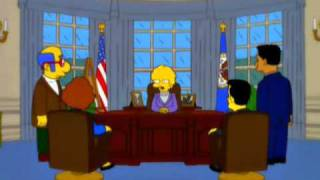 """السلسلة الشهيرة """"سمبسون"""" تتنبأ بفوز ترامب قبل 16 سنة !"""