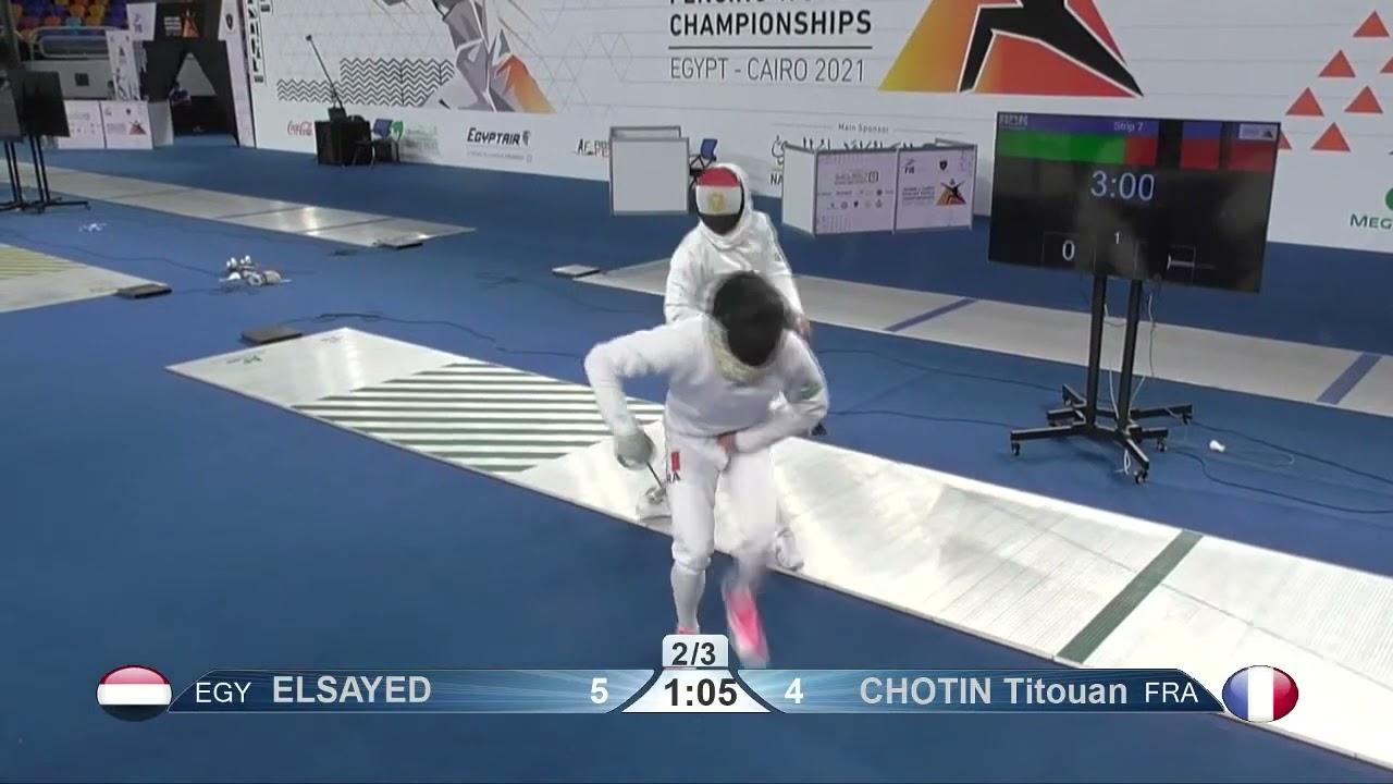 Download Cairo Worlds 2021 JME - L8 - Elsayed EGY v Chotin FRA